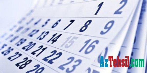Mart ayı bayramlarla əlaqədar 8 gün iş olmayacaq