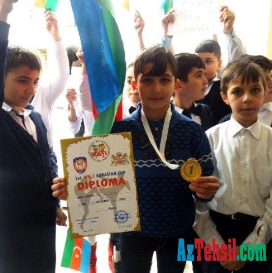 Bakı məktəblisi erməni idmançılar üzərində qələbə qazandı