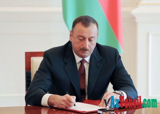 Prezident təhsillə bağlı - SƏRƏNCAM imzaladı