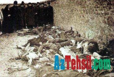Azərbaycanlıların 1918-ci il soyqırımından 100 il ötür