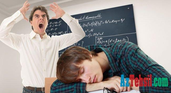 Müəllimlər ciddi psixoloji sarsıntı keçirir - Əsas səbəblər