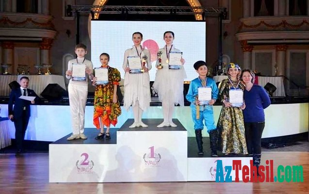 Bakı məktəbliləri Avropa çempionatında medal qazandı