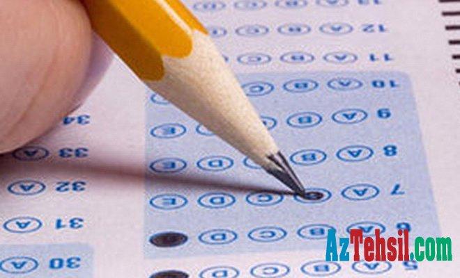 23124 abituriyent üçün sınaq imtahanı başa çatdı