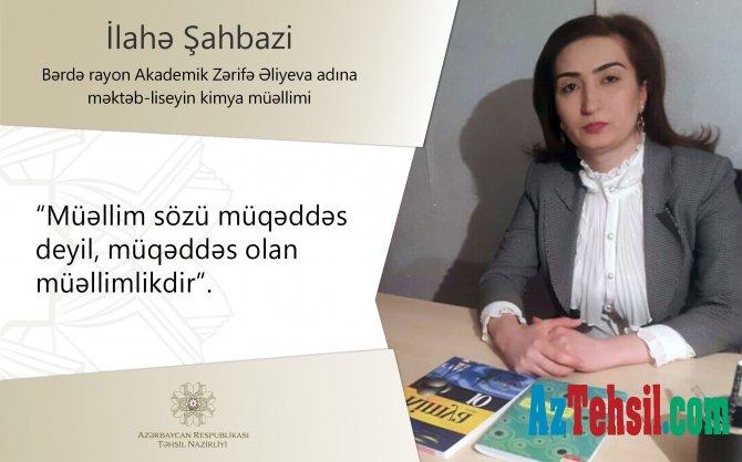"""Bərdə müəllimləri """"Bizim müəllim"""" layihəsində"""