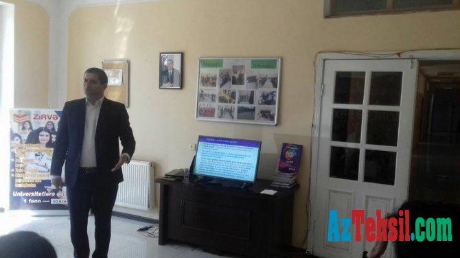 Sumqayıt şəhərində müəllim namizədləri üçün seminar keçirilib