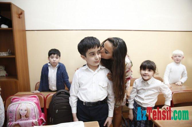 Leyla Əliyeva internat məktəbində - FOTOLAR