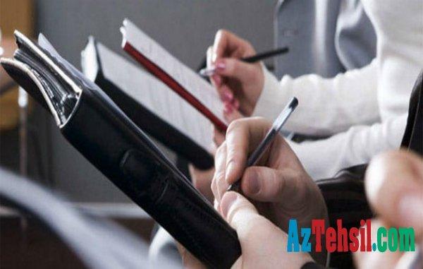 Dövlət Qulluğuna yüksək vəzifələr üzrə test imtahanı qeydiyyatı davam edir