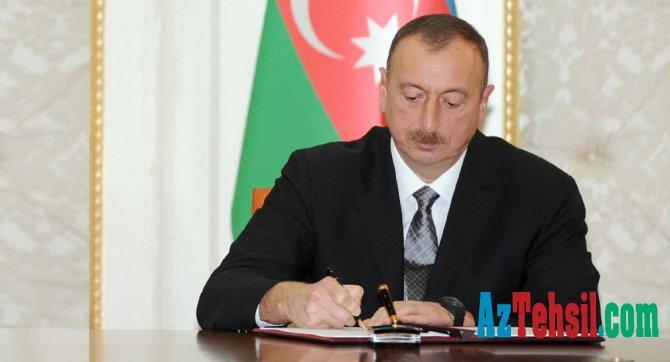 """""""Təhsil haqqında"""" qanunda dəyişikliklər edildi - FƏRMAN"""