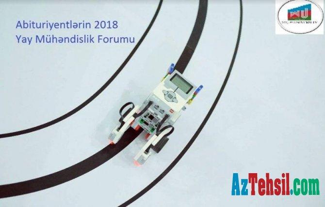 2018 Yay Mühəndislik Forumu keçiriləcək