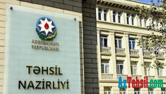 Təhsil Nazirliyi bu  şöbəyə müdir vəzifəsinə işçi axtarır - Maaş 980 manat