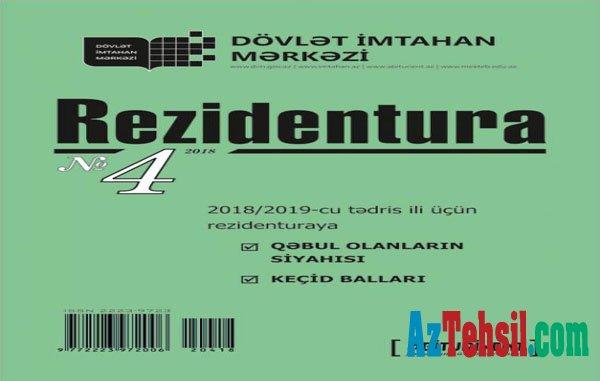 """""""Rezidentura"""" xüsusi buraxılışının 4-cü nömrəsini DİM-in saytından əldə edə bilərsiniz"""