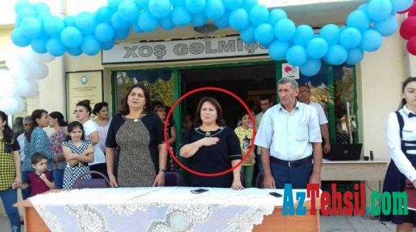 Müəllim və valideynlərlə saçyolduya çıxan qadın direktor barədə yeni faktlar üzə çıxıb.