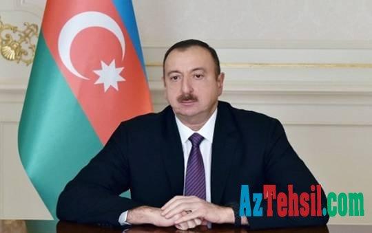 Prezident alimin vəfatı ilə əlaqədar başsağlığı verdi