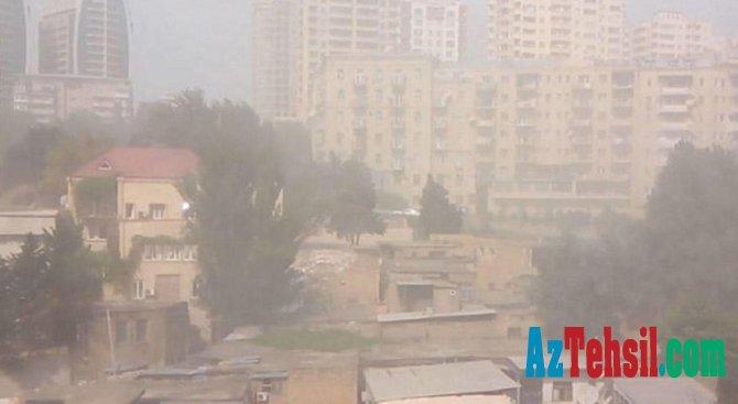 Bakıda və Abşeron yarımadasında  toz dumanı olacaq - Şagirdlərə çox zərərli