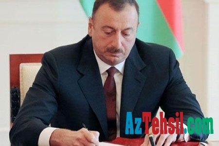 Prezident İlham Əliyev Azərbaycan Respublikasının təhsil işçilərinə
