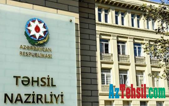 Təhsil Nazirliyinə 2 milyon manat ayrıldı