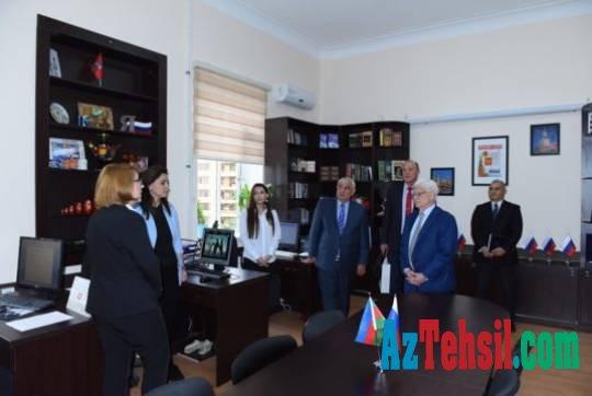 Rusiya səfiri Azərbaycan Dillər Universitetində oldu