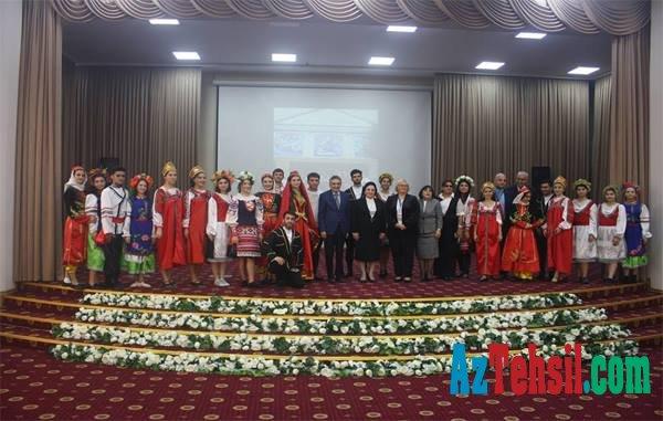 VI Bakı Beynəlxalq Humanitar Forumunun iştirakçıları BSU-da olublar