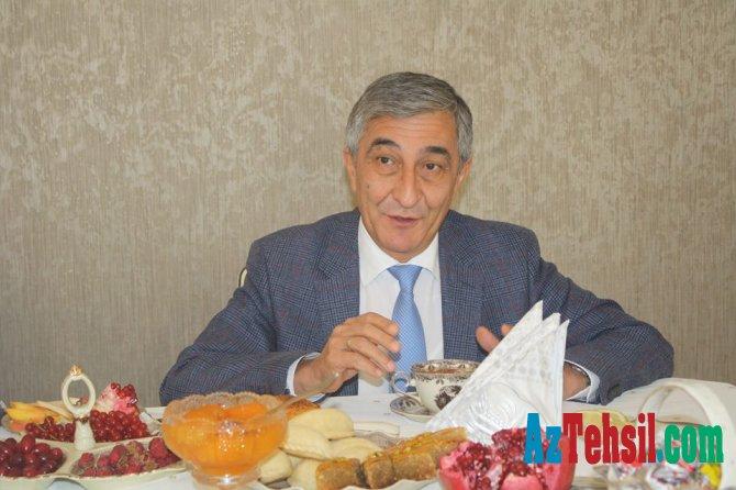 """Tacikistan səfiri BSU-da olub...""""BSU ilə əməkdaşlıq etmək bu ölkə universitetlərinin arzusudur"""""""