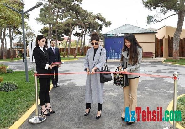 """Mehriban Əliyeva """"Cırtdan"""" istirahət və sağlamlıq mərkəzinin açılışında -FOTOLAR"""