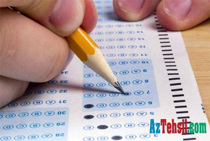 Oktyabrın 28-də keçirilmiş sınaq imtahanının nəticələri açıqlandı