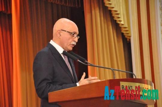 BDU-nun yeni rektoru ilk tədbirini keçirdi