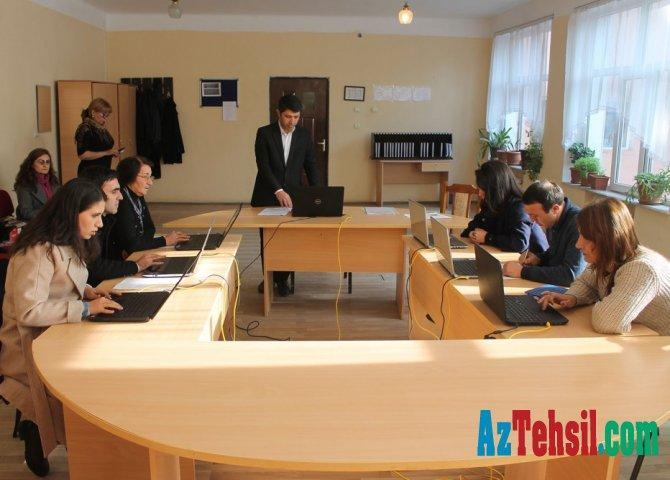 Dövlət İmtahan Mərkəzi Gəncədə hazırlıq kursları təşkil edib