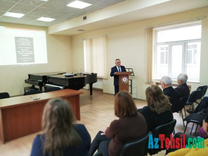 Bakı Musiqi Akademiyasında erməni plagiatlığı müzakirə olundu