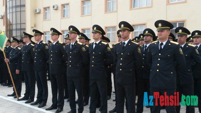 Polis Akademiyasına 150 kursantın qəbulu üçün müsabiqə elan olundu