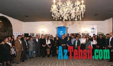 Bahçeşehir Universiteti Bakıda məzunları ilə görüşüb