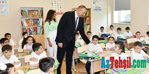 Prezident məktəb tikintisinə 2 milyon manat ayırdı