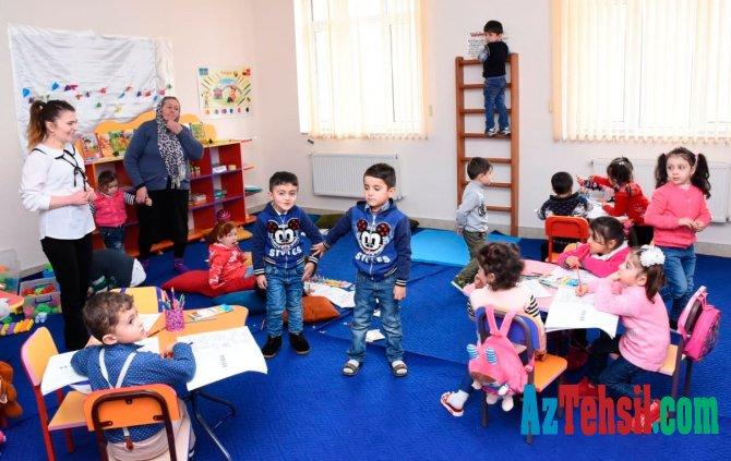 3-4 yaşlı uşaqların məktəbi
