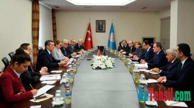 Azərbaycan və Türkiyə təhsil nazirləri arasında görüş