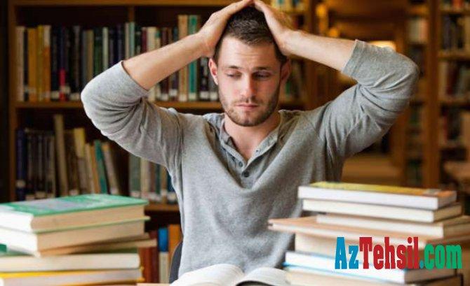 Uşaqların yüksək səviyyədə imtahan stressi yaşadığını hardan anlaya bilərik?
