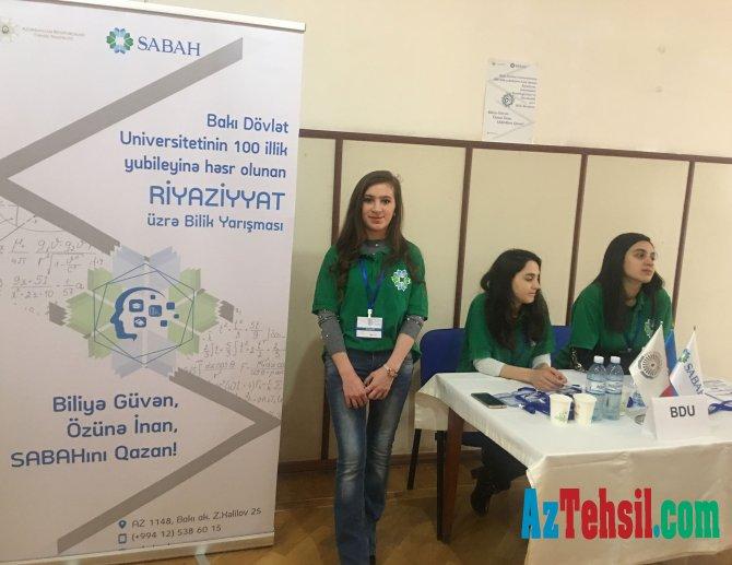 BDU-nun 100 illik yubileyinə həsr olunan bilik yarışması
