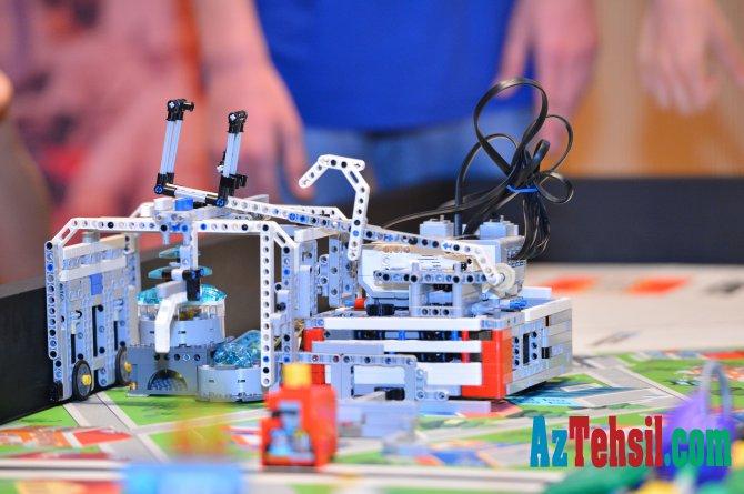Mühəndislik və robot texnikası üzrə olimpiadanın qalibləri beynəlxalq çempionatda