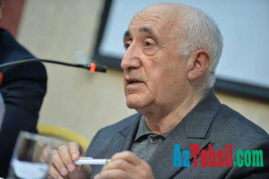 Professor Şahlar Əsgərov: Təhsilin bəşəri inkişafda rolu