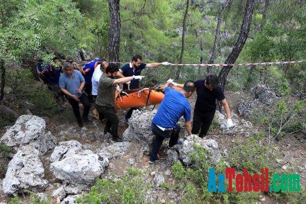45 gündür axtarılan tələbənin cəsədi uçurumdan tapıldı - FOTO