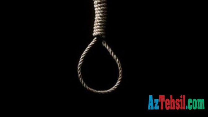 17 yaşlı oğlan intihar edib.