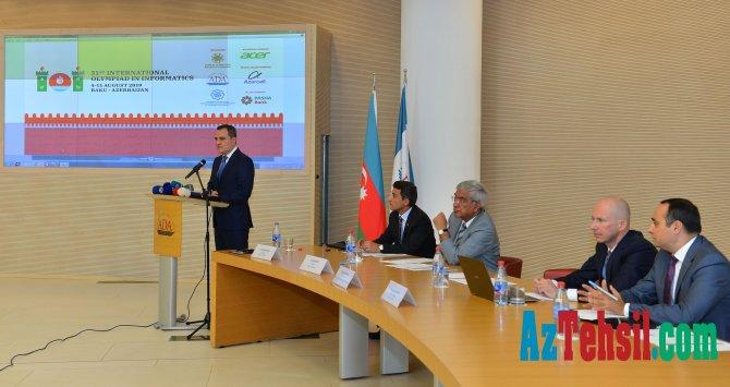 31-ci Beynəlxalq İnformatika Olimpiadası ilə bağlı mətbuat konfransı
