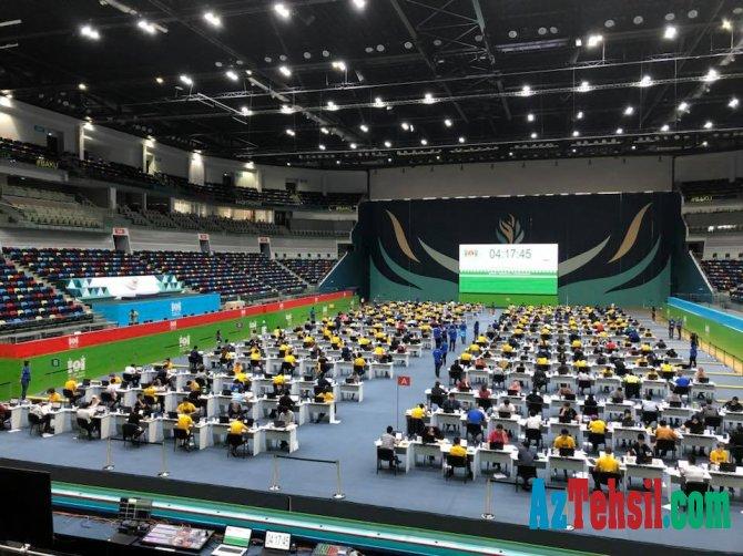 31-ci Beynəlxalq İnformatika Olimpiadasının ilk günü