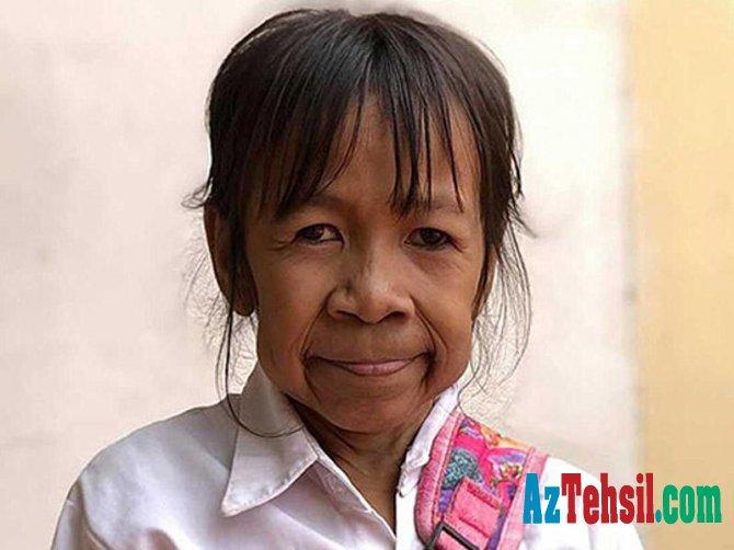 10 yaşlı qız qoca qarıya çevrildi