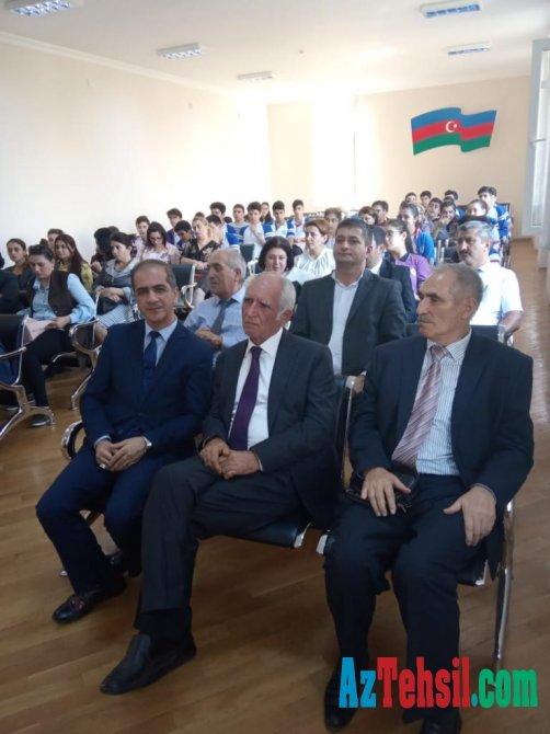 Fizika, riyaziyyat və informatika təmayüllü liseydə təqdimat mərasimi keçirilib
