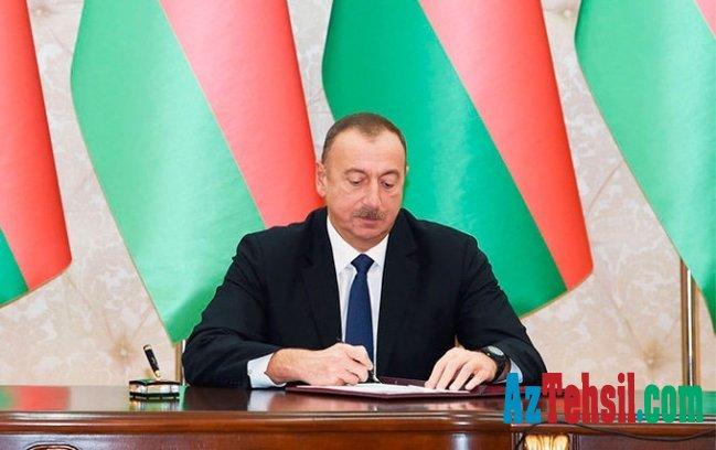 Prezident Təhsil Nazirliyinə pul ayırdı
