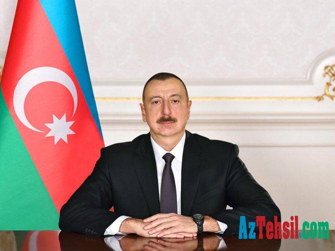 Prezident şahmatçı Aydın Süleymanlını təbrik etdi