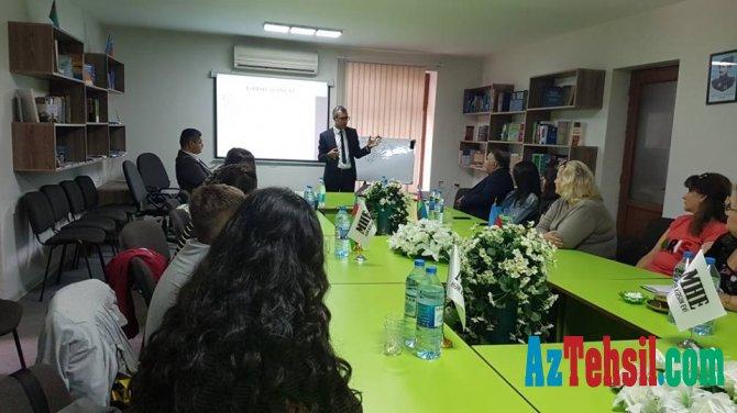 """Milli Hüquq Evində  """"Təhsil Hüququ: Qanunvericilik, problemlər"""" mövzusunda seminar keçirilib"""