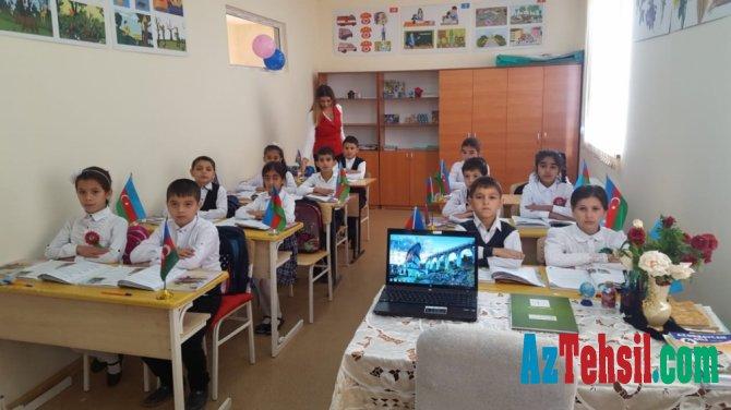 Ağsunun Sarvan kəndində modul tipli təhsil ocağı istifadəyə verilib