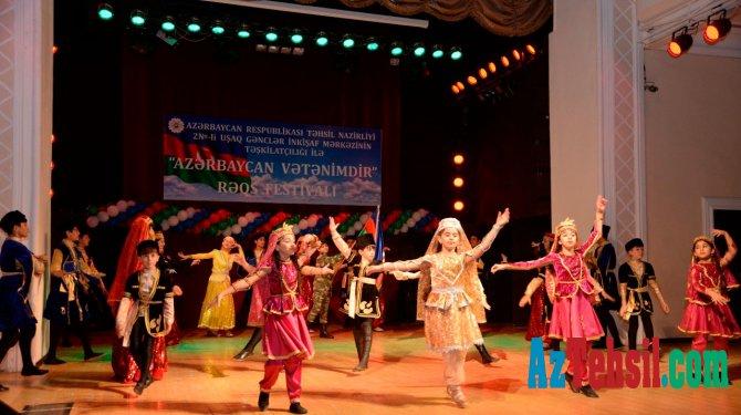 """""""Azərbaycan Vətənimdir"""" adlı rəqs festivalı"""