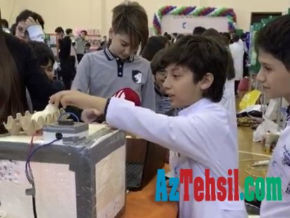 Azərbaycanda kollec şagirdləri inkubator aparatı hazırlayıb