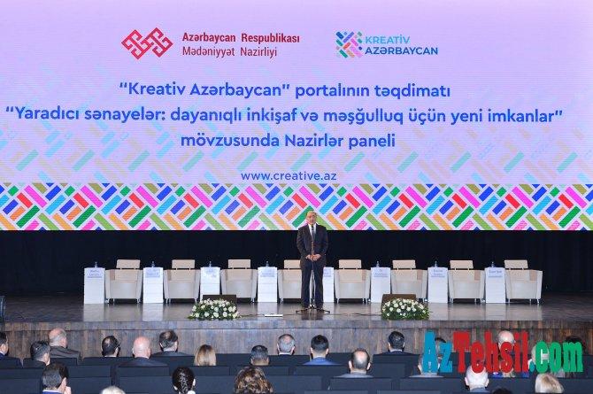"""""""Kreativ Azərbaycan"""" portalının təqdimatı"""